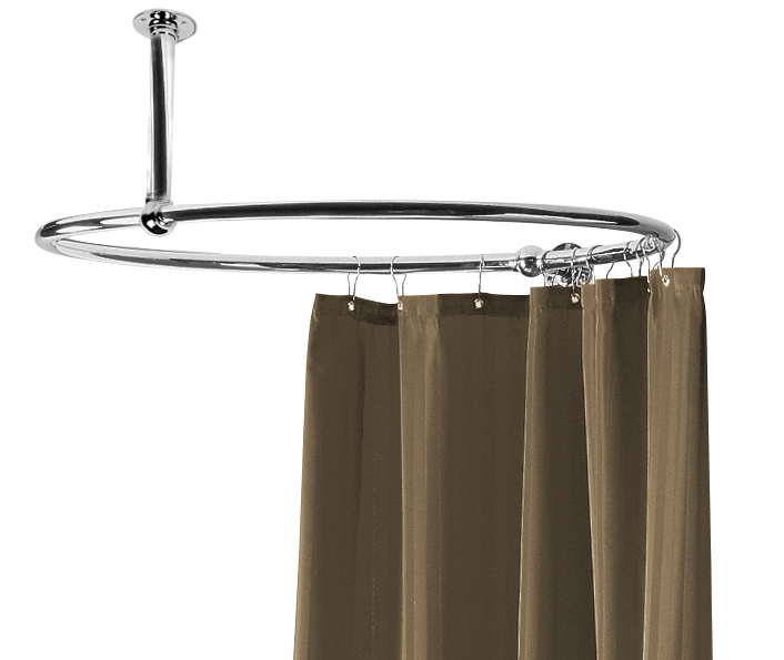 Circular Shower Rail ROSR2 Shower Curtain Rails - Traditional Shower ...