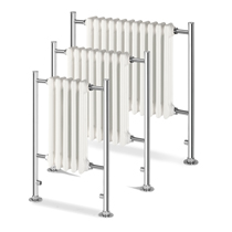 Empire Contemporary Chrome Radiators