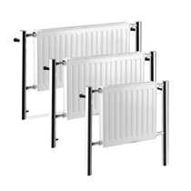 Loft Contemporary Chrome Radiators