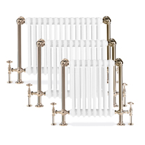 Portland Contemporary Chrome Radiators