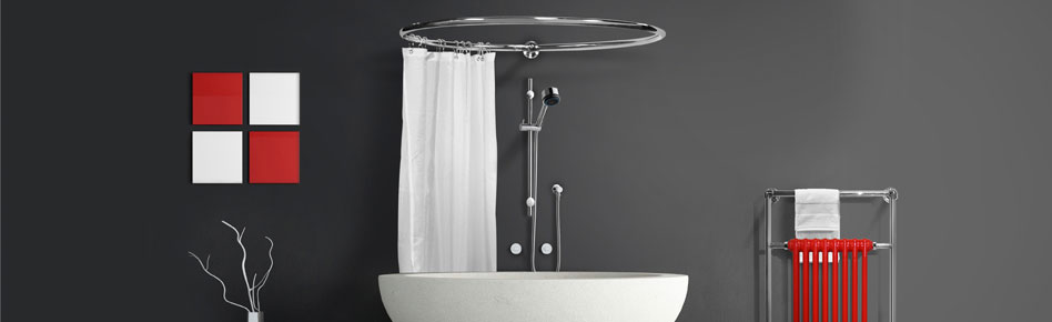 Round Shower Curtain Rails From Warmer Ideas 12 2018